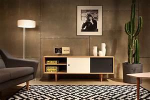 Lowboard Design Möbel : moderne retro m bel im skandi stil ~ Sanjose-hotels-ca.com Haus und Dekorationen