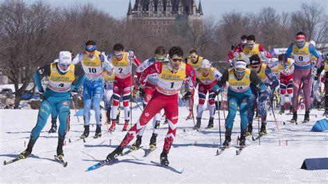 coupe du monde de ski de fond la coupe du monde de ski de fond de retour 224 qu 233 bec en