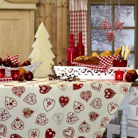 sander tischwäsche weihnachten landhausweihnacht weihnachtstischdecke sander bei sander tischwaesche de weihnachten