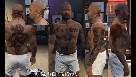 Gta 5 Tattoo's For Franklin Mod