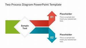 2 Steps Arrow Powerpoint
