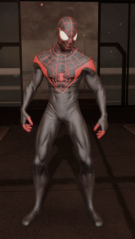 ultimate suit  spider man edge  time