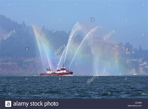 Fireboat Guardian by Sffd Stock Photos Sffd Stock Images Alamy