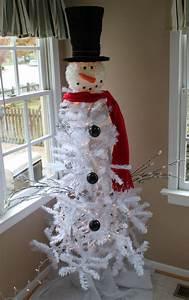 Snowman, Christmas, Tree-, Tree-, Dollar, General, White, Strand, Lights