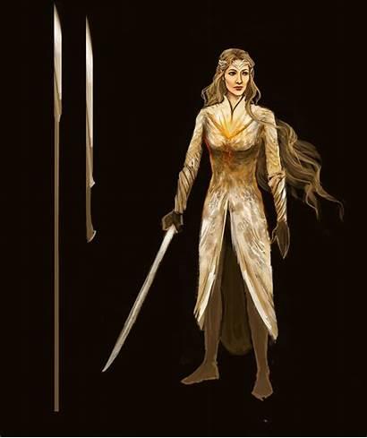 Galadriel Dol Lotr Armor Guldur Hobbit Spear
