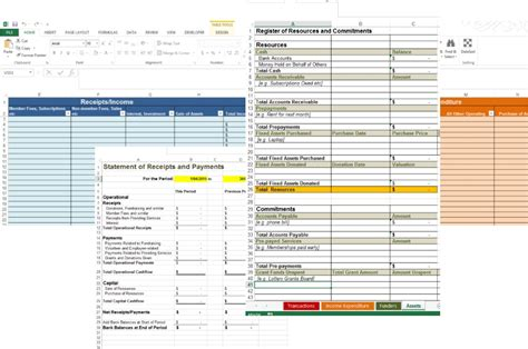 cashbook template nz accounting spreadsheets christchurch community accounting