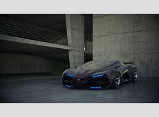 Wallpaper LADA Raven, concept, supercar, sports car