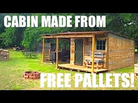 tiny housecabin     pallets
