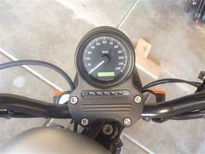 Harley Davidson Sportster How To Relocate Speedometer