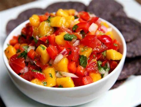 mango red pepper salsa popsugar fitness