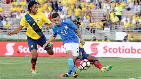 brazil  ecuador copa america  gamecast stats