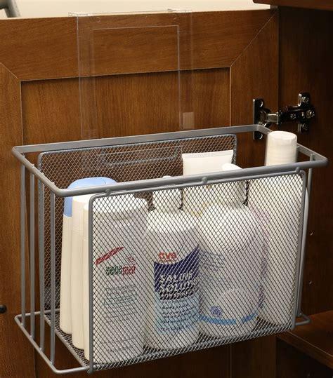 euro home over the sink organizer steel over door basket organizer cabinet under sink storage