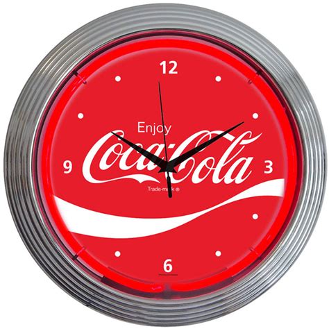 lighted clocks for sale coke neon clocks coca cola neon wall clocks for sale