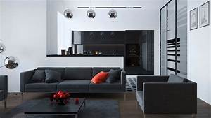 Deco Pour Salon : idee decoration salon simple elegant ~ Teatrodelosmanantiales.com Idées de Décoration