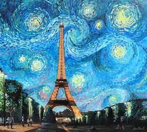 Starry Night in Paris by Maiwen deviantart com on @deviantART Pins for Abby Pinterest
