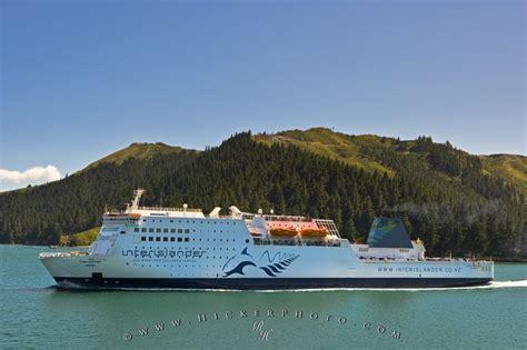 Ferry Boat New Zealand by Interislander Ferry New Zealand Photo Information