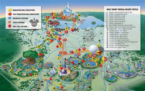 disney world map travelquazcom