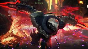 Project Zed Skin Splash Art League Of Legends Wallpapers ...