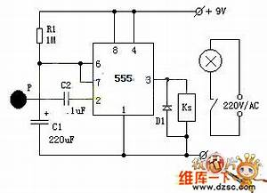 555 touching timing switch circuit diagram 555 circuit With make a 555 timer circuit that turns on after a time delay and stays on