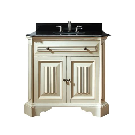 single sink bathroom vanity  distressed white