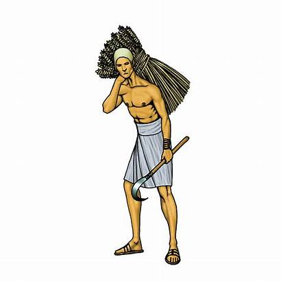 Egyptian Clipart Slave Ancient Peasant Slaves Slavery