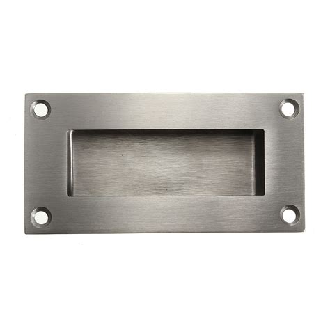 stainless steel recessed flush pulls drawer cabinet door