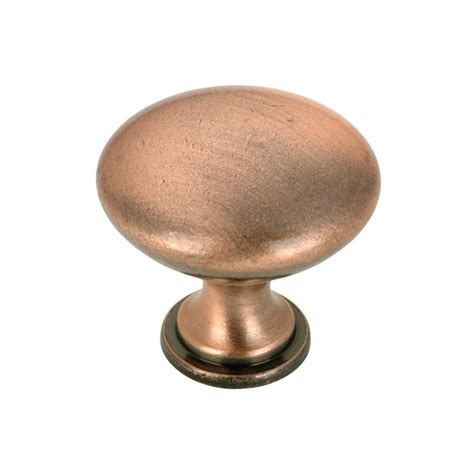 copper knobs for kitchen cabinets richelieu hardware contemporary and modern 1 1 8 in 8337
