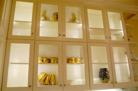 Led Cabinet Interior Lighting  Traditional  Kitchen  St