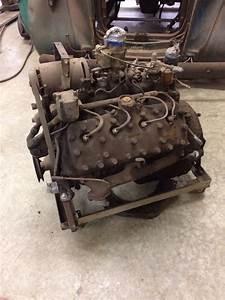 Ford Flathead Engine 239 Cui 24 Stud 59ab Motor
