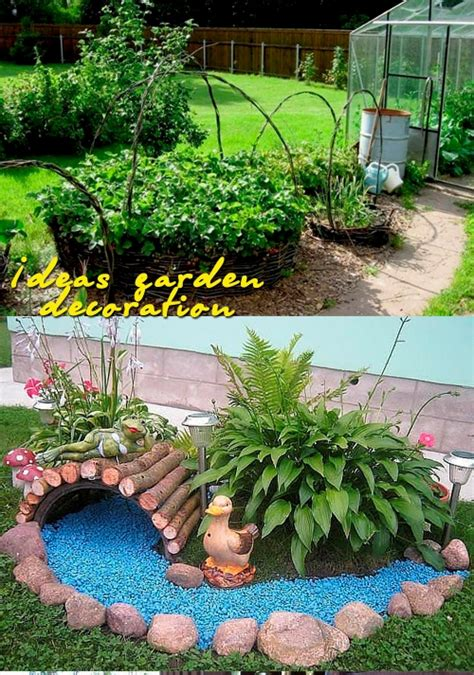 Garden Decoration Home by Ideas Garden Decoration House