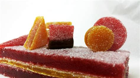 ζελεδάκια από πουρέ φρούτων ion