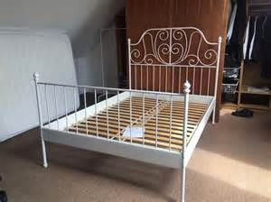 ikea leirvik double bed frame victoria city victoria