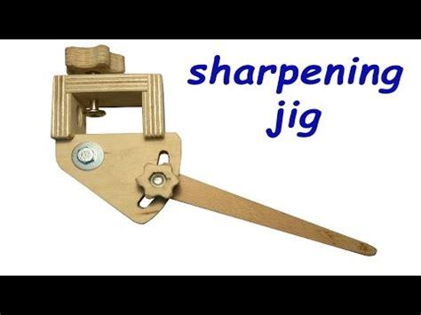 homemade sharpening jig  woodturning tools  plans youtube