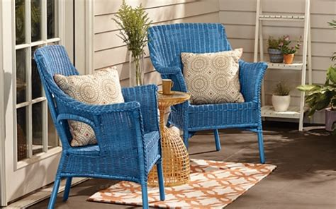 wicker chairs project
