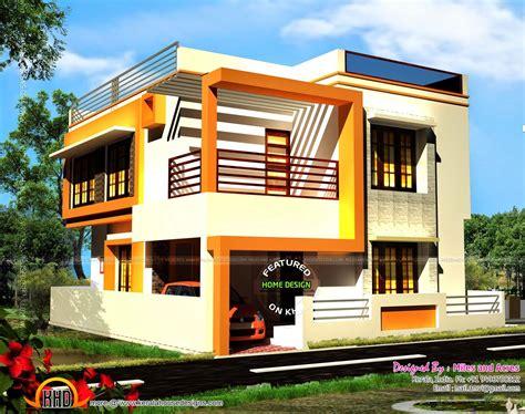 house plan  elevation modern house design small