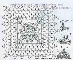 Flower Square Blanket Crochet Pattern  U22c6 Crochet Kingdom