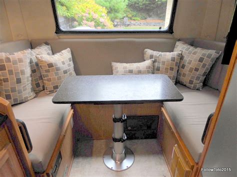 rv dining table replacement 5 reasons to downsize your rv dinette table follow toto