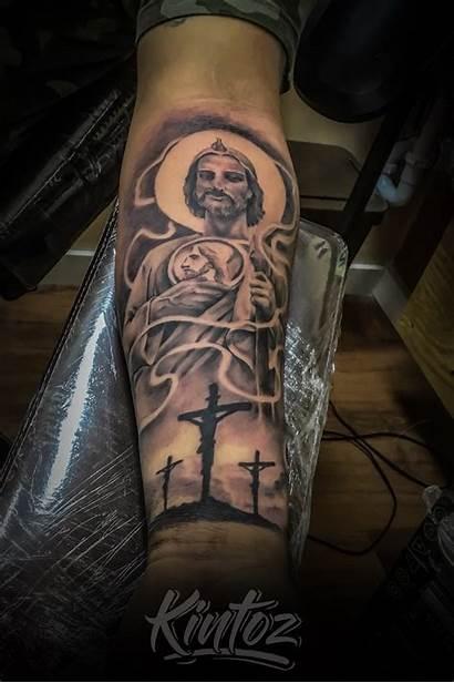 Tattoo Tattoos Atlanta Judas San Tattoodo Mexican