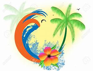 Tropical Beach Clipart Backgrounds | www.imgkid.com - The ...