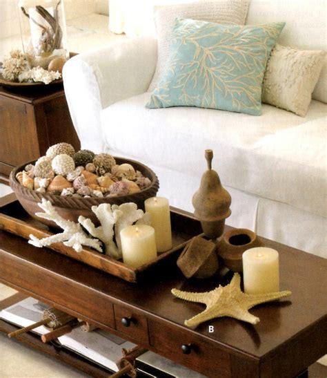 Shop wayfair for the best beach coastal coffee table. The Coastal View - Beach Decor and Coastal Style: Coastal Accent Ideas   Center table decor ...