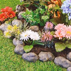 14x, Rock, Piece, Stone, Effect, Plastic, Garden, Edging, Rockeries, Flower, Borders, Pond, 5053335610999