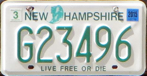 Temporary Boating License In Nh by New Hshire Sam Farley Plates