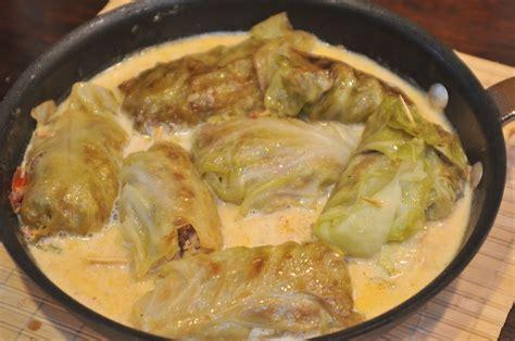 stuffed cabbage rolls stuffed cabbage rolls original german recipes