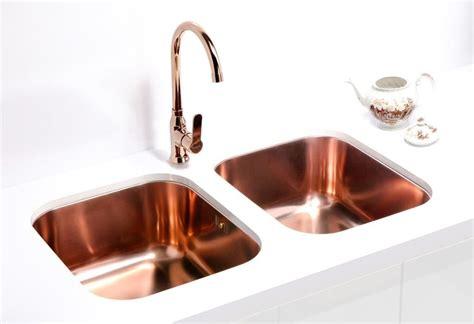 copper sink with stainless steel appliances alveus monarch variant 40 copper undermount sink