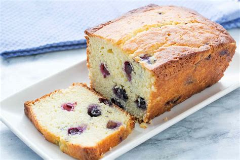 lemon blueberry cake ricotta pound cake simplyrecipescom