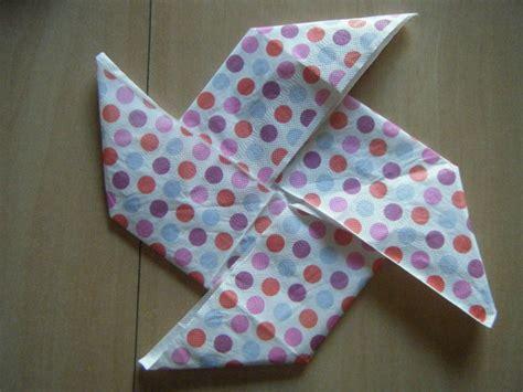 pliage serviette papier rapide facile