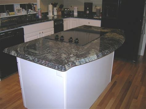 kitchen island with granite countertop kitchen island granite edges with chiseled edge