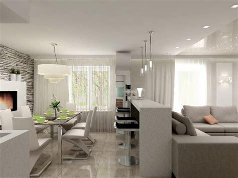Stilvoll Tapete Modern Essbereich Esszimmer Wohnzimmer Aufteilung