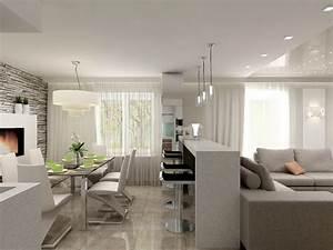 Wohn Esszimmer Küche : esszimmer wohnzimmer aufteilung ~ Markanthonyermac.com Haus und Dekorationen