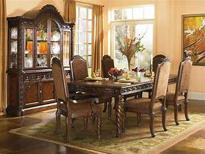 Ashley Millennium – North Shore Dining Room Set – D553